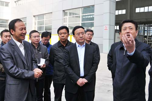 Vice-secretary of Gansu provincial part & Governor of Gansu Province Liu Wei