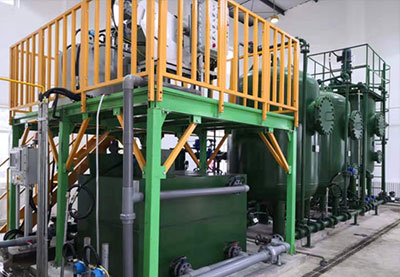 Skid-mounted Integrated Oil Field Produced Water Treatment